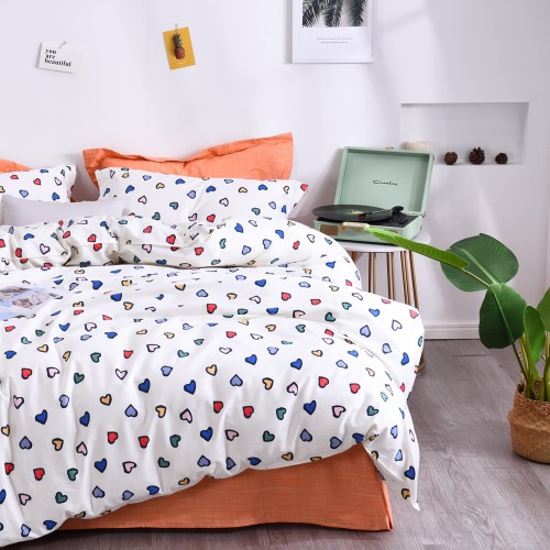 Pillowcase set 70 * 70 VIP TL20005 Love You Satin