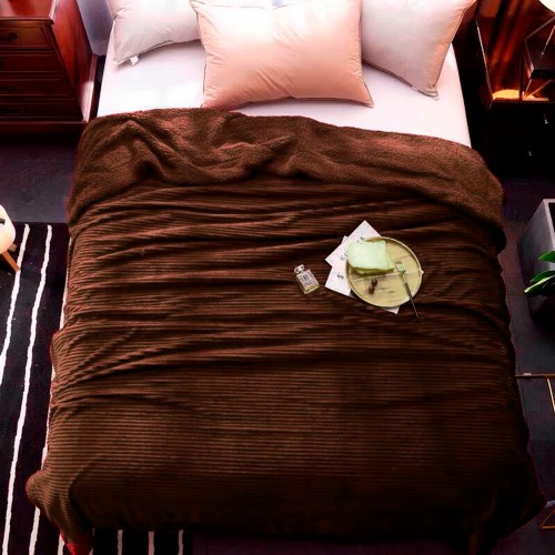 Blanket strip chocolate HomeBrand