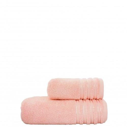 Полотенце VIP cotton светло розовое HomeBrand