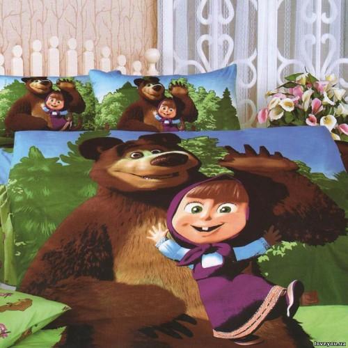 PBC for children TD233 Masha and the Bear Love You 1,5-sleeping