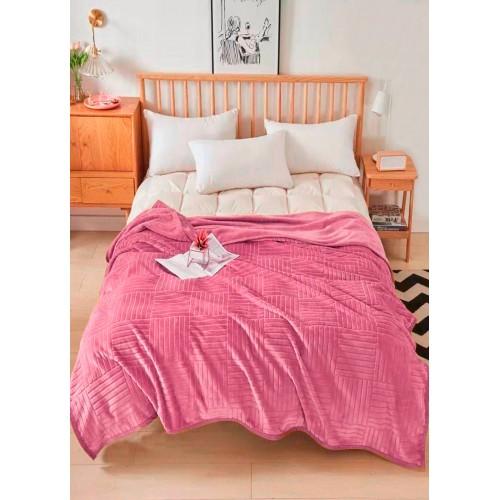 Plaid velor Parquet pink HomeBrand