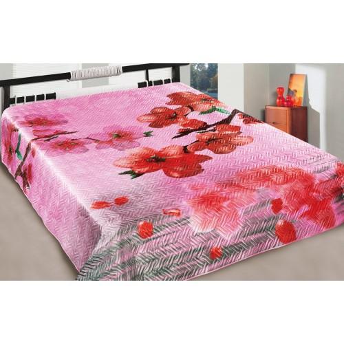 Bedspread Silk 3D Joy Love You
