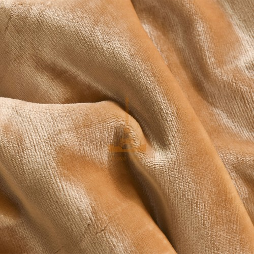 Plaid-bedspread sand HomeBrand