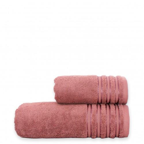 Полотенце VIP cotton темно-розовое HomeBrand