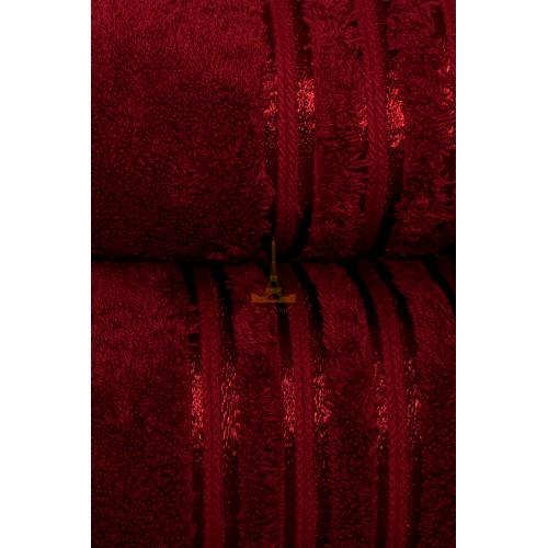 Полотенце VIP cotton бордо HomeBrand