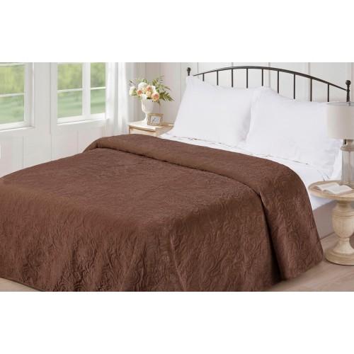Blanket plain V09 chocolate Love You