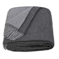 Woolen plaid 2 colors light gray-t gray Love You