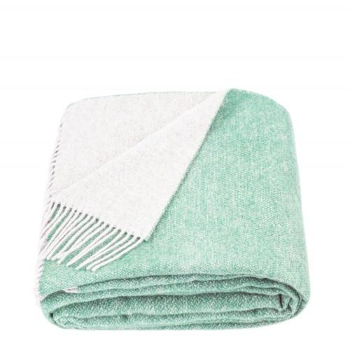 Woolen plaid 2 colors St. mint gray Love You
